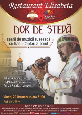 Afis web Dor de stepa, 20 oct.