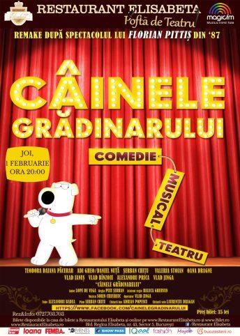 Afis-web-Cainele-gradinarului,-1-feb-2018
